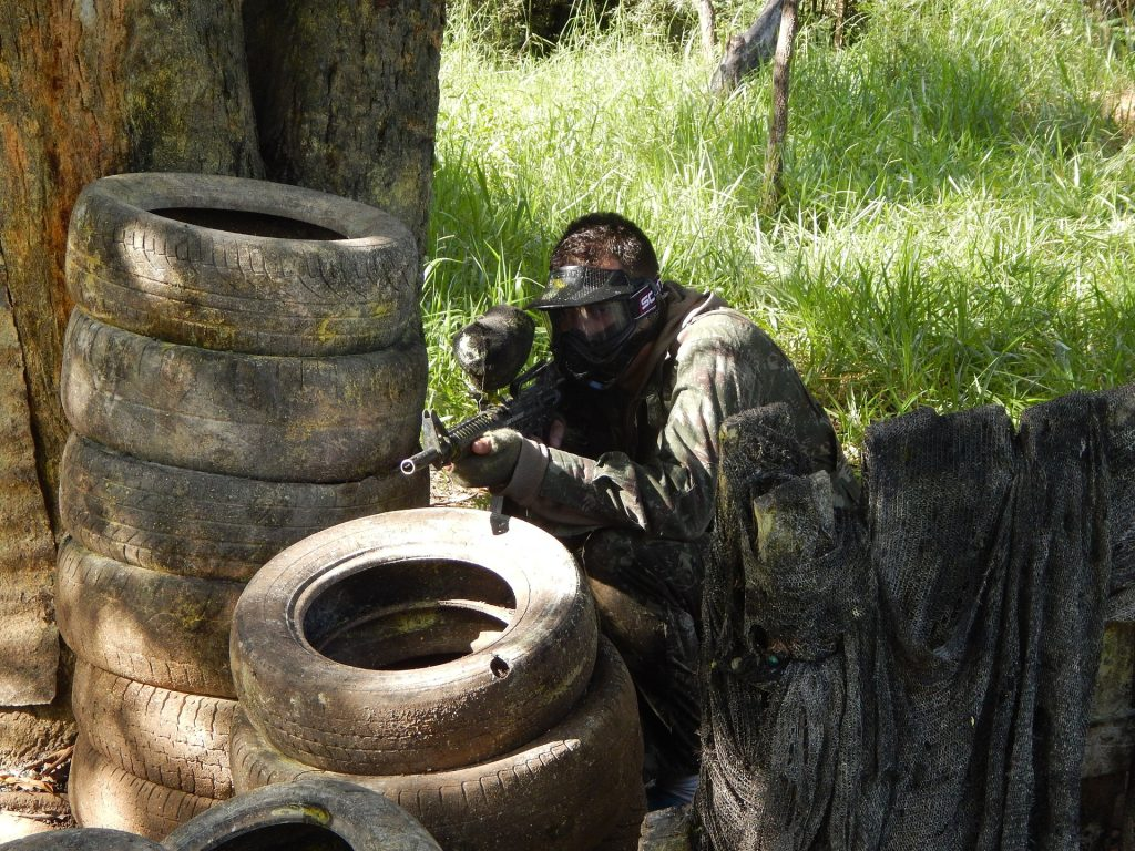 paint ball is a fun exercise activity